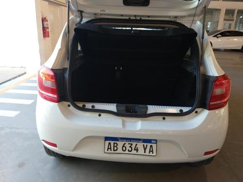renault sandero exp pack 2017 62000 km blanco 5 puertas