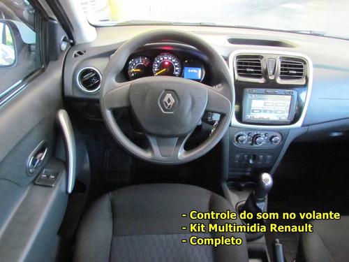 renault sandero express. 1.0 2017 4 cil. + multimidia