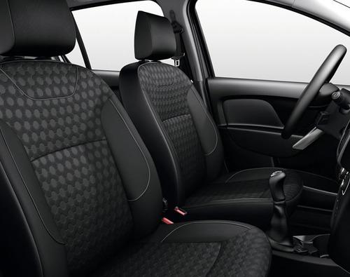 renault sandero expression 0km 2018 plateado contado autos