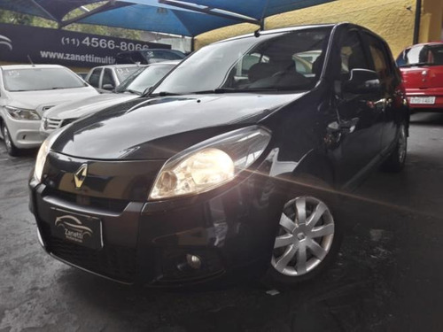 renault sandero  expression 1.6 8v (flex) flex manual