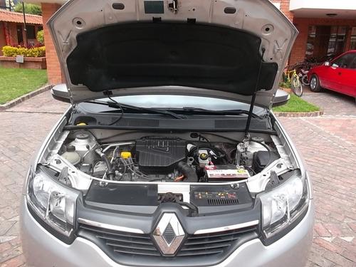 renault sandero expression 2017 1600cc gris estrella 5 puert
