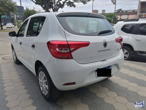 renault sandero intens 1.6 blanco 0km contado financiado