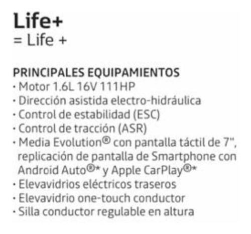 renault sandero life+ ph2