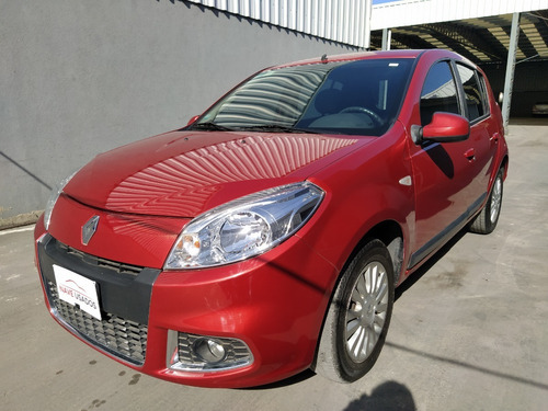 renault sandero luxe 1.6 2012 rojo lli