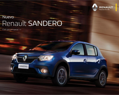 renault sandero ph2 intens 1.6  2020