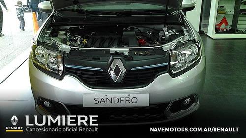 renault sandero privilage full 1.6 2017 gris 4 puertas 0km