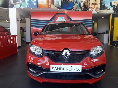 renault sandero rs 0 km deportivo 2020  tasas 0 % (ap)