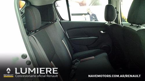 renault sandero rs 1.6 2017 gris 4 puertas 0km