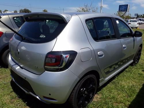 renault sandero rs 2.0 $160000 anticipo y cuotas  car one