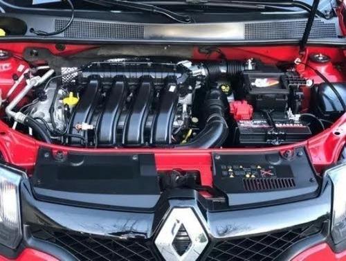 renault sandero rs motor 2.0 16v 5 puertas color rojo 2017