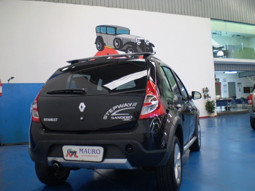 renault sandero stepway 1.6 16v hi-flex 5p mauro automóveis