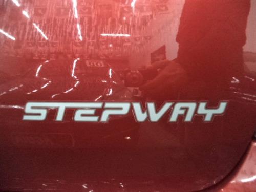renault sandero stepway 1.6 flex 2013 completo + rodas + mp3
