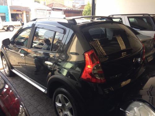 renault sandero stepway 1.6 flex completo 2011 barato  uber
