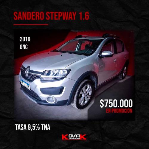 renault sandero stepway 2016 1.6 privilege 105cv