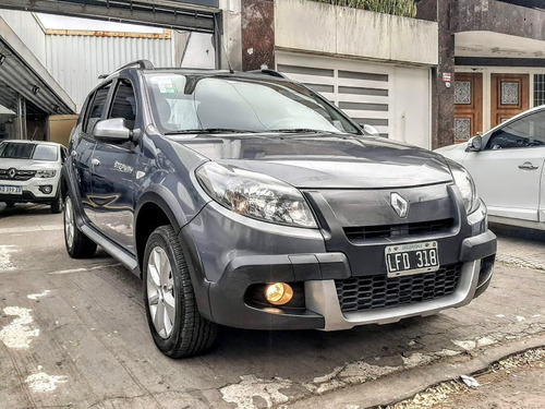renault sandero stepway confort 2012 impecable (mac)