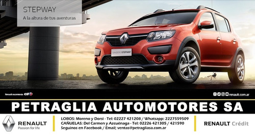 renault sandero stepway expression!!!! impecable!!!