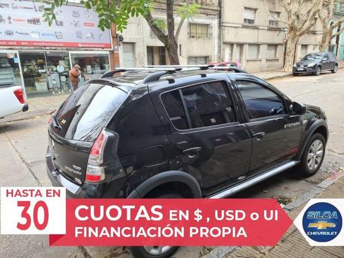 renault sandero stepway privilege 2015 negro 5 puertas