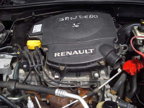 renault sandero vendido em partes mecanica eletrica lataria