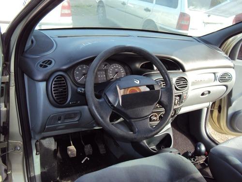 renault scenic 1.6 16v sucata motor cambio porta capo painel