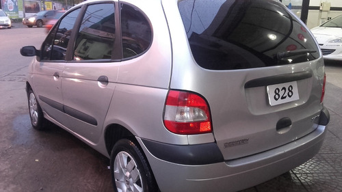 renault scenic 1.6 confort plus full 2009 gris| anticipo 50%