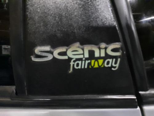 renault scénic 1.6 fairway gnc $150mil y cuotas permuto