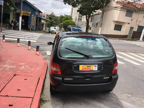 renault / scenic 1.6  rt - completa - bem conservada