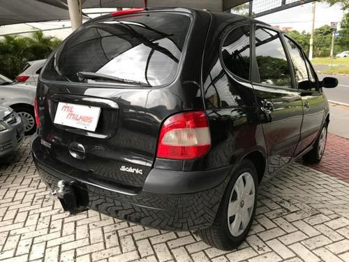 renault scenic expression 1.6 aut 2004