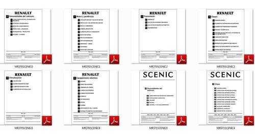renault scenic + manual de despiece envio x mail