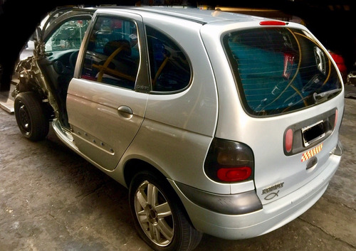 renault scenic rt 1.9 tdi 2001 chocado