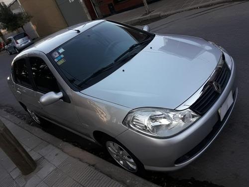 renault symbol 2011 c gnc conection mas full abs airbag clim