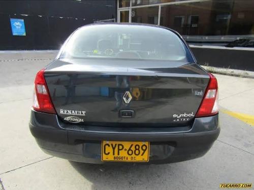 renault symbol alize modelo 2008, bien cuidado