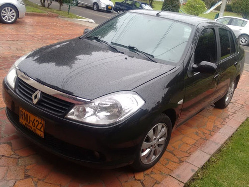 renault symbol ii luxe, full equipo, airbag, aire.