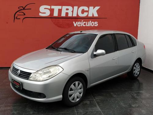 renault symbol sedan expression 1.6 16v 4p 2010