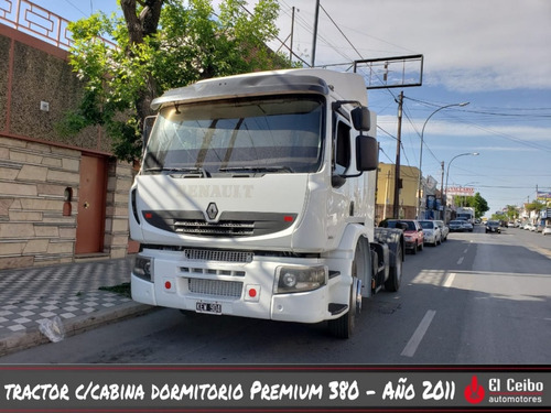 renault tractor c/cabina dormitorio premiun 380 dx