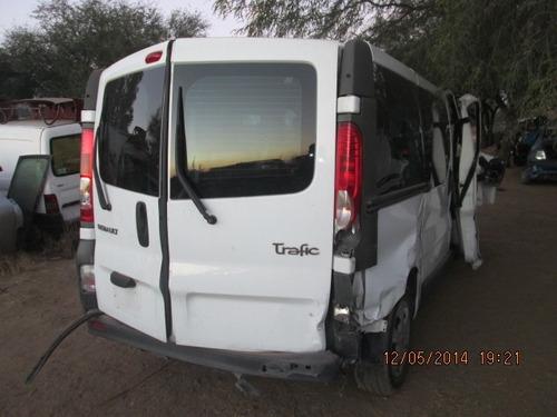 renault trafic 2009 venta de partes