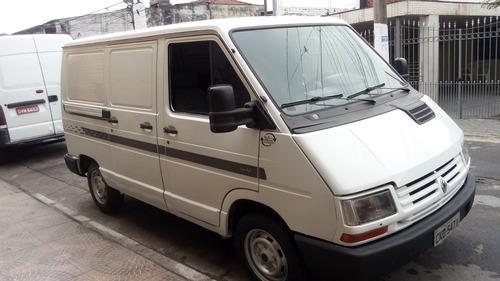 renault trafic 2.2 curto 5p - furgão 98 gasolina e gnv