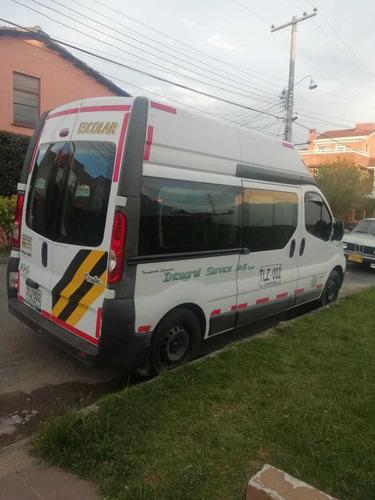 renault trafic, modelo 2015. 16 pasajeros