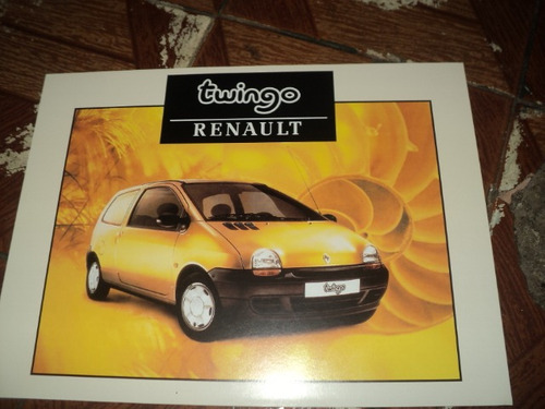 renault twingo 1998 f.concessionaria
