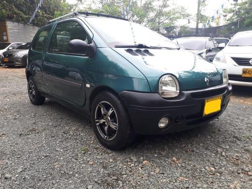 renault twingo motor 1.2 2000 verde fidji 3 puertas