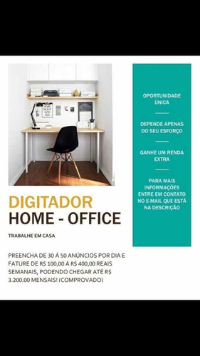 renda extra com home office