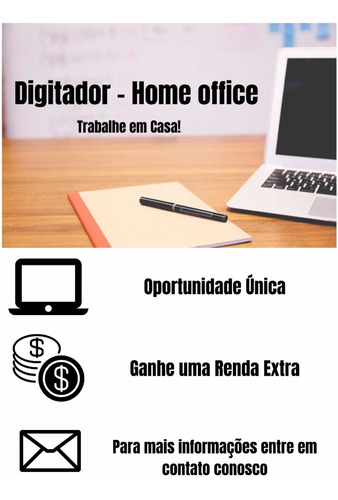 renda extra - home office
