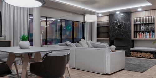 render 3d arquitectura oferta especial