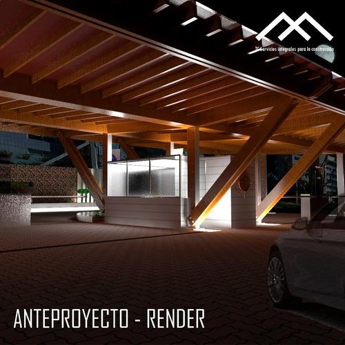 render interior y exterior - remodelaciones - asesoramiento