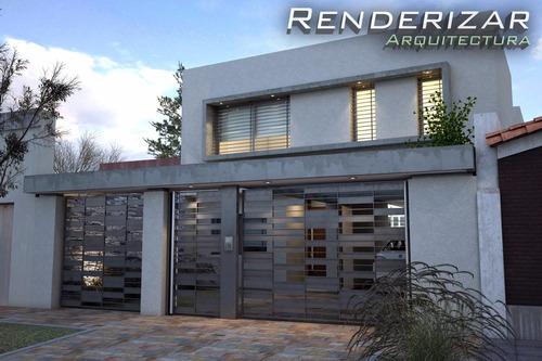 renders, imágenes 3d, animaciones - renderizar arquitectura