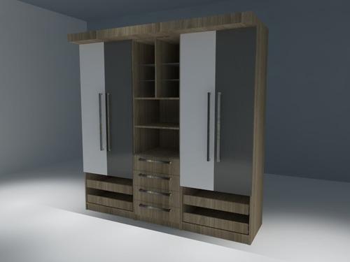 renders para cocinas, closet, e interiorismo