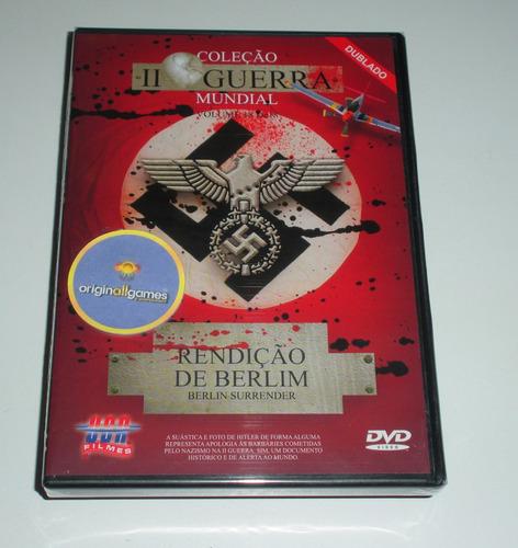 rendição de berlim 2ª wii vol 18 | filme dvd original