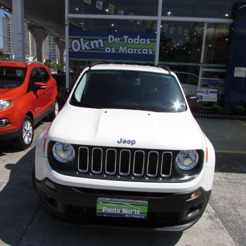 renegade 1.8 flex sport at  2016 branco