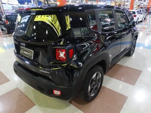 renegade sport flex automático - único dono c/ 4 pneus novos