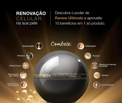 renew ultimate 7s noite creme anti-idade 50g -