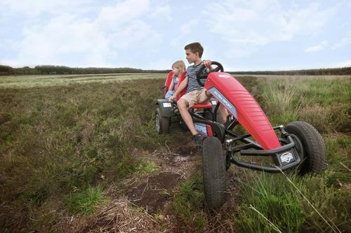 renner go kart a pedal berg modelo extra sport rojo